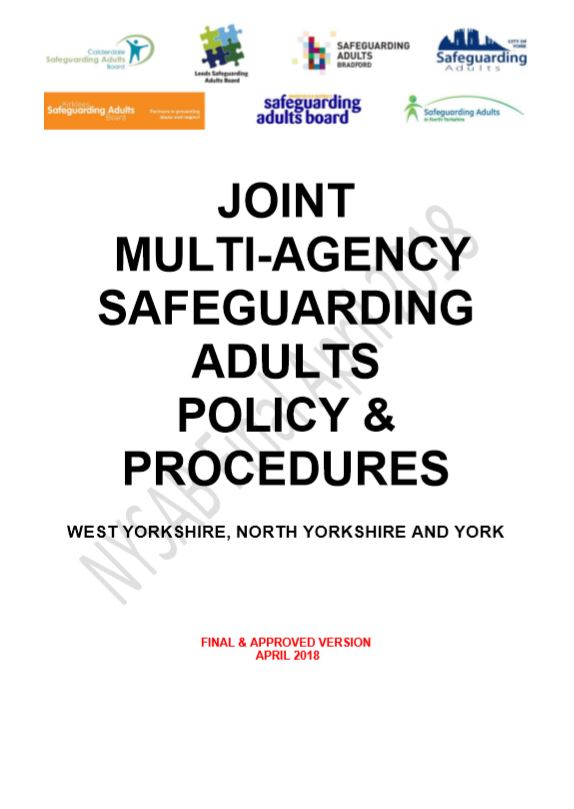 Guidance for Developing a Safeguarding Adults Policy