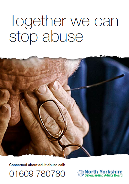 Together we can stop abuse Leaflet
