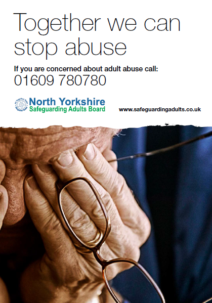 Together we can stop abuse Poster